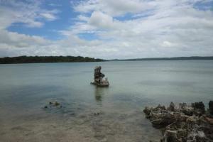 Keunikan Wisata Laut Mati di Rote Ndao Tak Ditunjang Akses Jalan Memadai