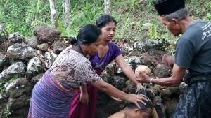 Mengenal Tradisi Wa`u Wae di Manggarai