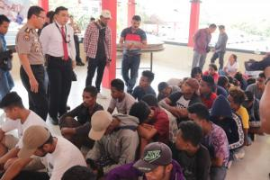 29 Pekerja Migran Ilegal Asal Kupang Diamankan Polda Kepri