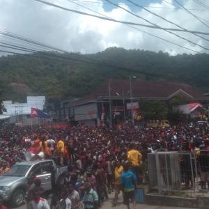 Demo Susulan Tolak Rasisme di Jayapura, Papua Berlangsung Anarkis