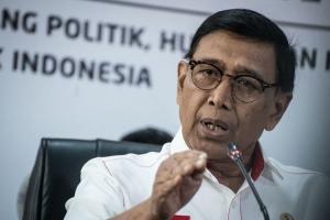Menko Polhukam Diserang Orang Saat Kunjungan ke Pandeglang, Banten