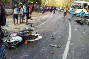 Kecelakan Beruntun di Kota Kupang Tewaskan 3 Orang