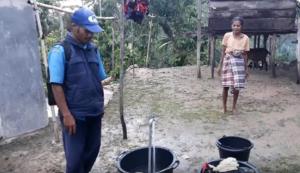 Warga Malip Bantah Ada Rekayasa Air Saat Peresmian oleh Bupati Deno
