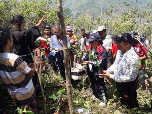 Kecamatan Cibal Barat Adakan Konservasi Mata Air di Desa Lenda