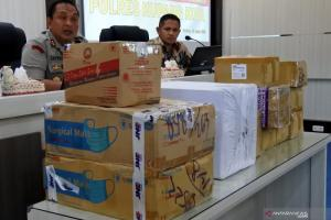 Polres Kupang Gagalkan Pengiriman Paket Masker ke Jakarta
