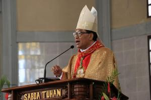 Cegah Corona, Panitia Tunda Misa Syukur Penahbisan Uskup Ruteng