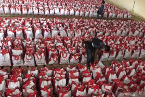 Total 4.600 Paket Bantuan Sembako dari Presiden Jokowi Telah Tersalur di Kupang