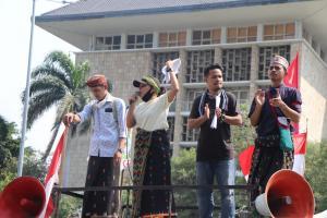 Demo Tolak Pabrik Semen di Matim, Korlap Forum Pemuda NTT Mengaku Diintimidasi