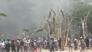 Polisi Masih Berjaga-jaga di Lokasi Kerusuhan Tuapukan Kupang